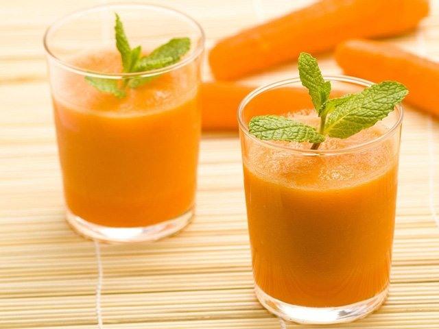 смузи морковь